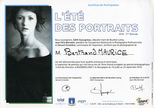 Certificat participation